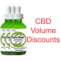 Hemp CBD Volume Discounts